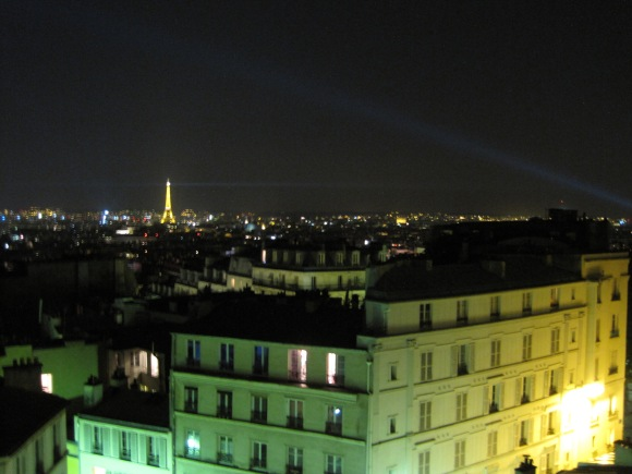 Paris Blick aus dem Fenster