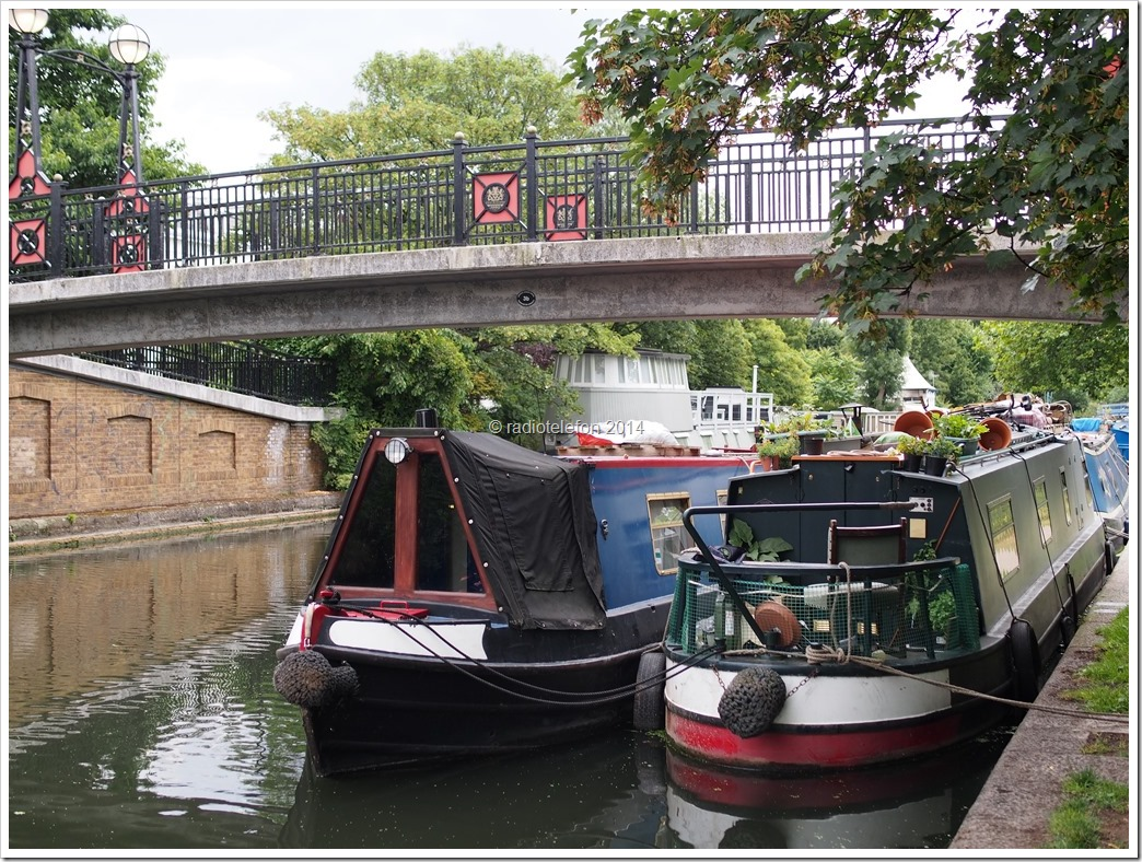 London Little Venice Hausboot