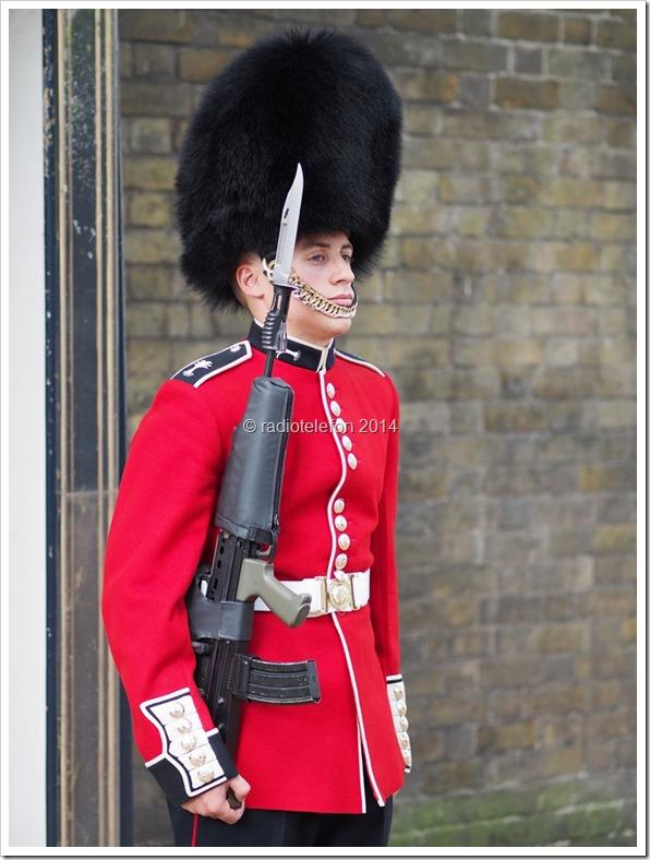 London Wachablösung Buckingham Palace