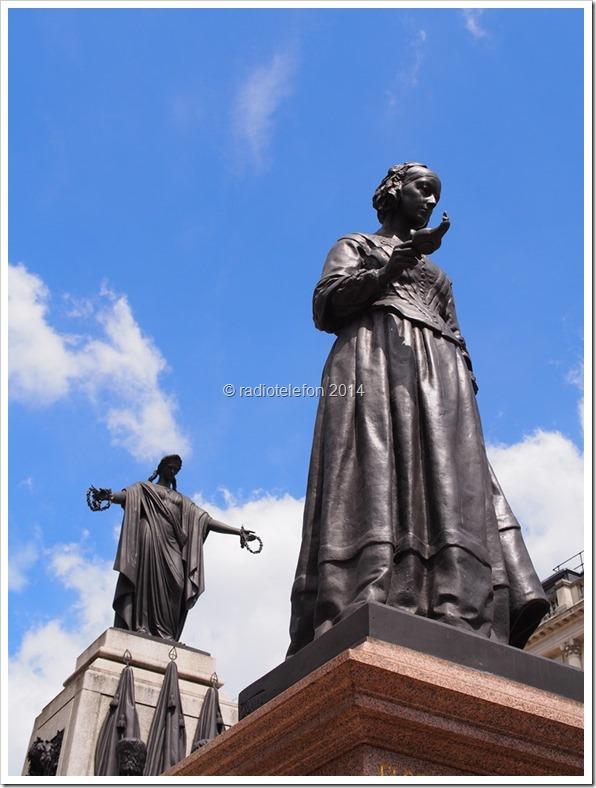 London Denkmal Florence Nightingale