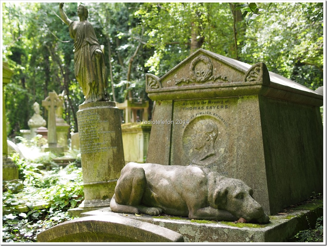 London Highgate Cemetery Tom Sayer
