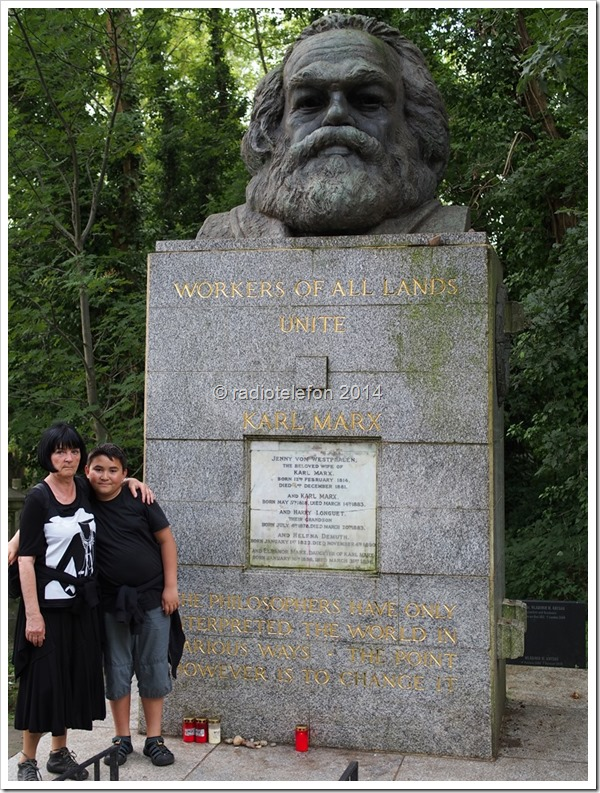 London Highgate Cemetery Karl Marx
