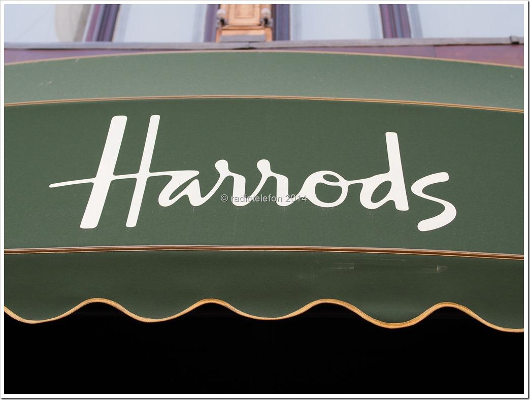 London Kaufhaus Harrods