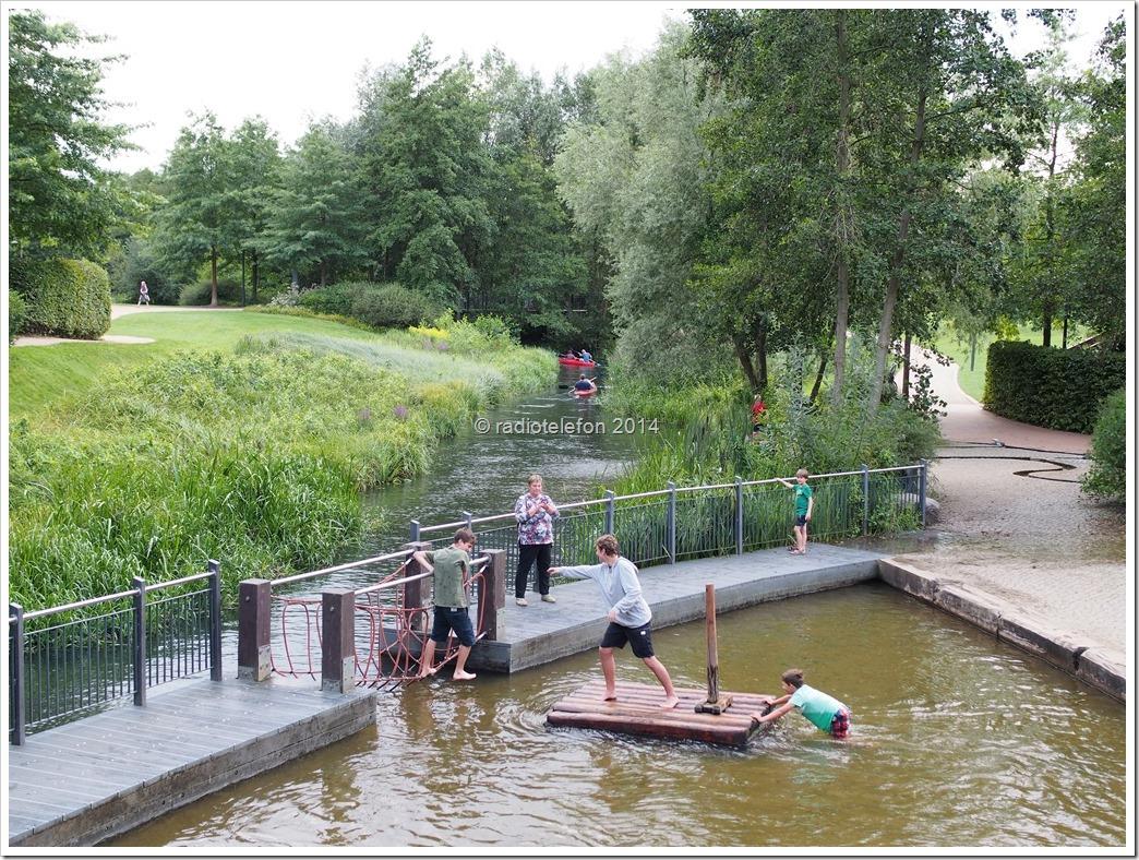 Lübben Spreewald Brandenburg Wasserspielplatz