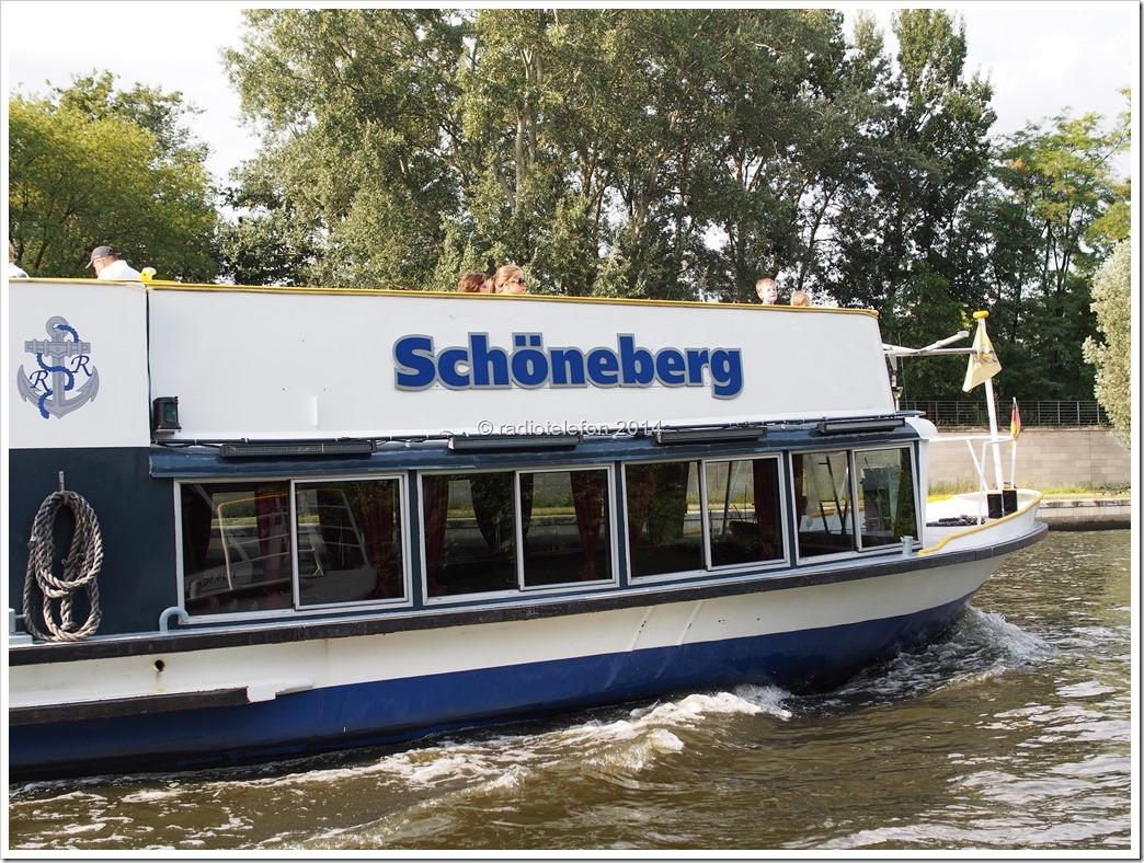 Berlin Spree Reederei Riedel