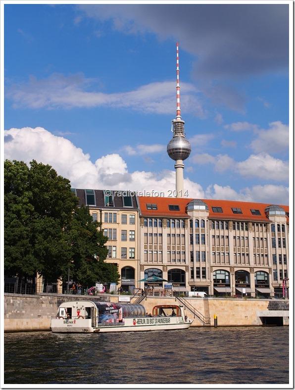 Berlin Spree Fernsehturm