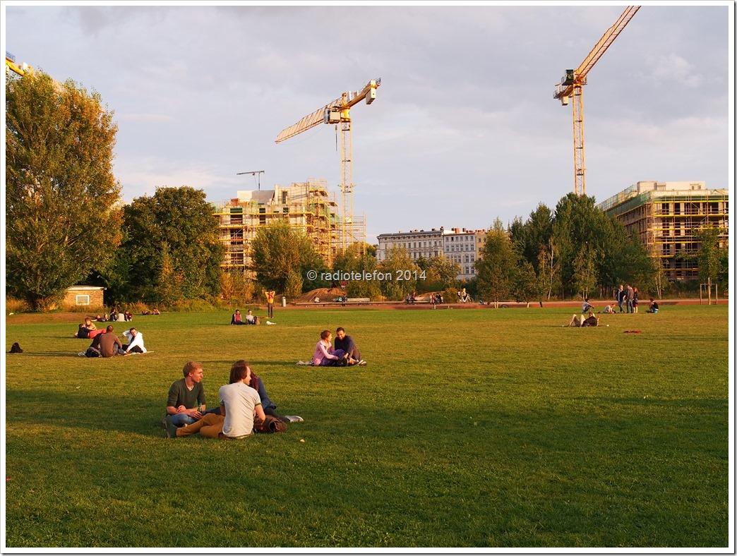 Berlin Park Gleisdreieck Parkfest Radio Eins