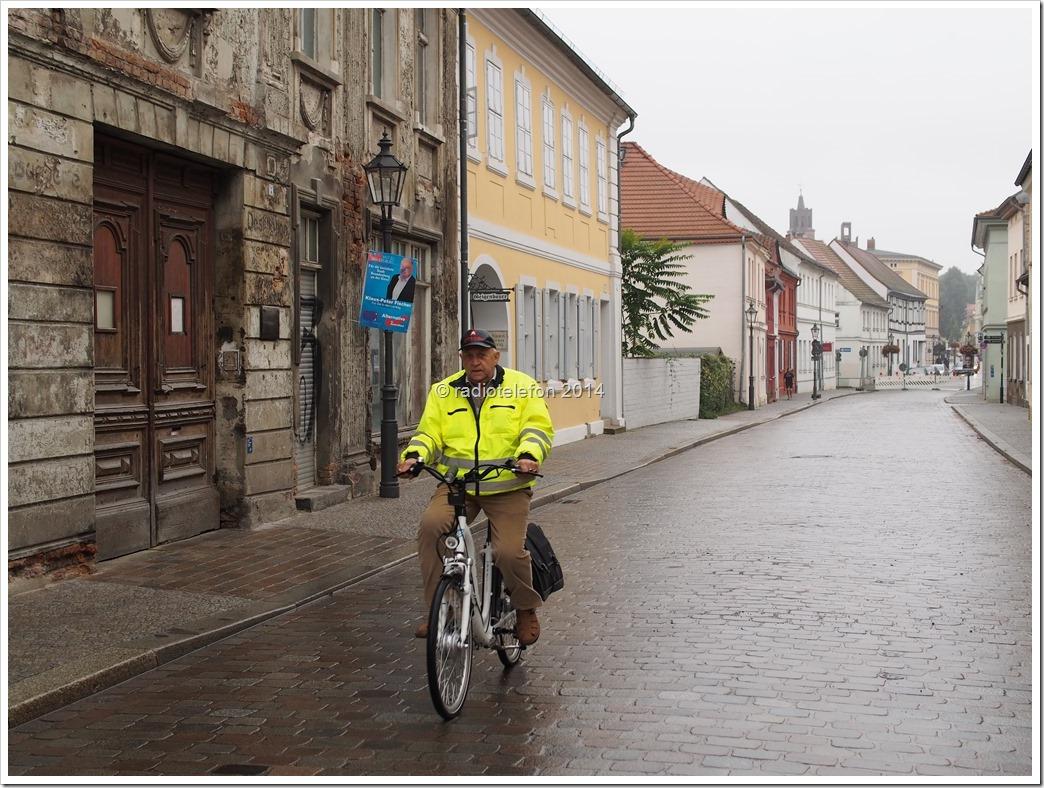 Brandenburg an der Havel Straße Radfahrer