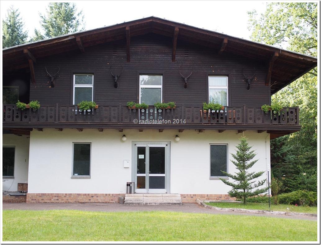 Brandenburg Schorfheide Jagdschloss Hubertusstock