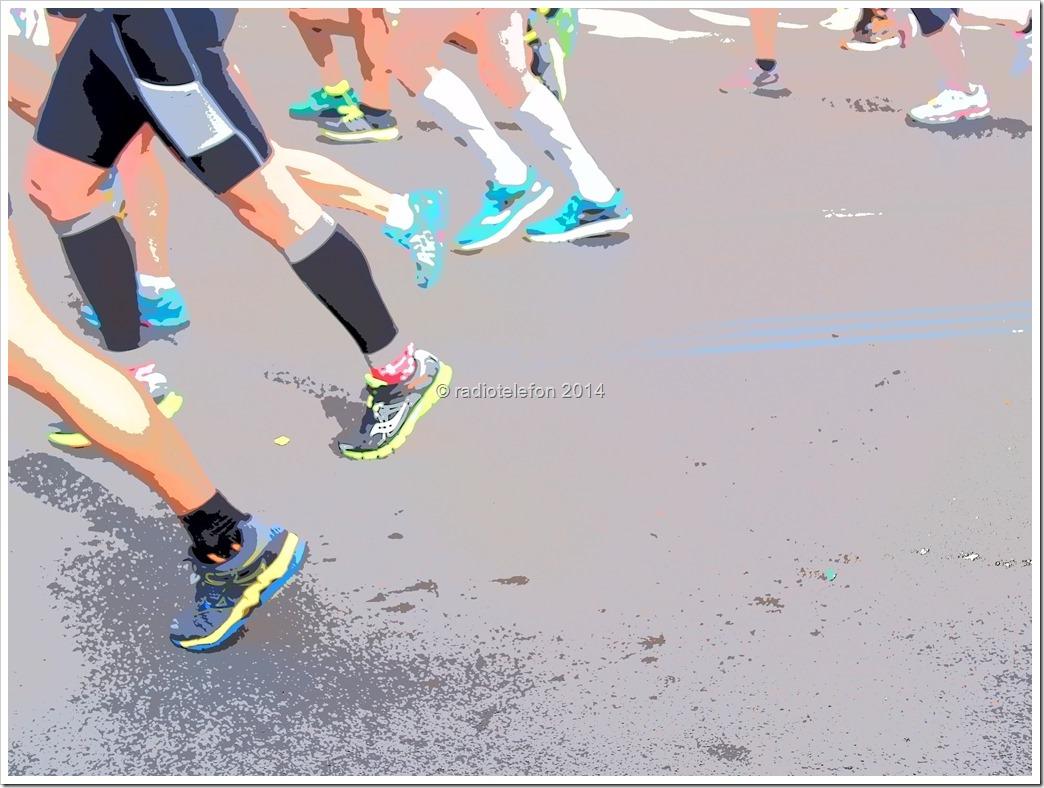 Berlin Marathon Füße