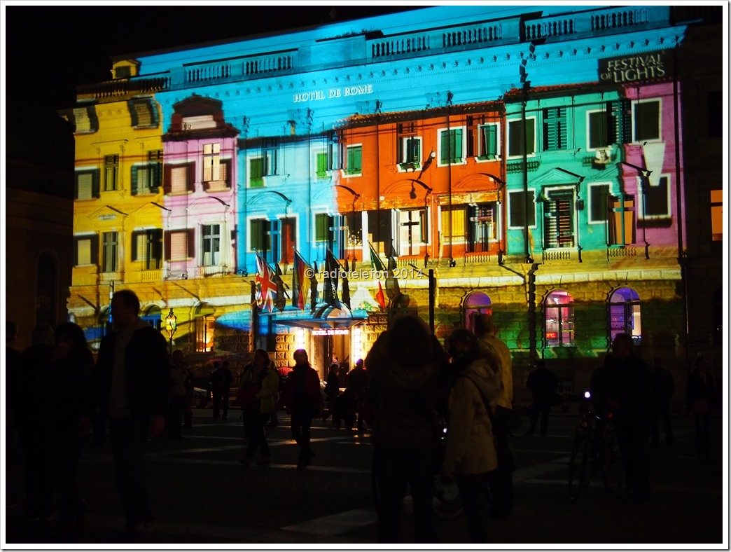 Berlin Festival of Lights Hotel de Rome