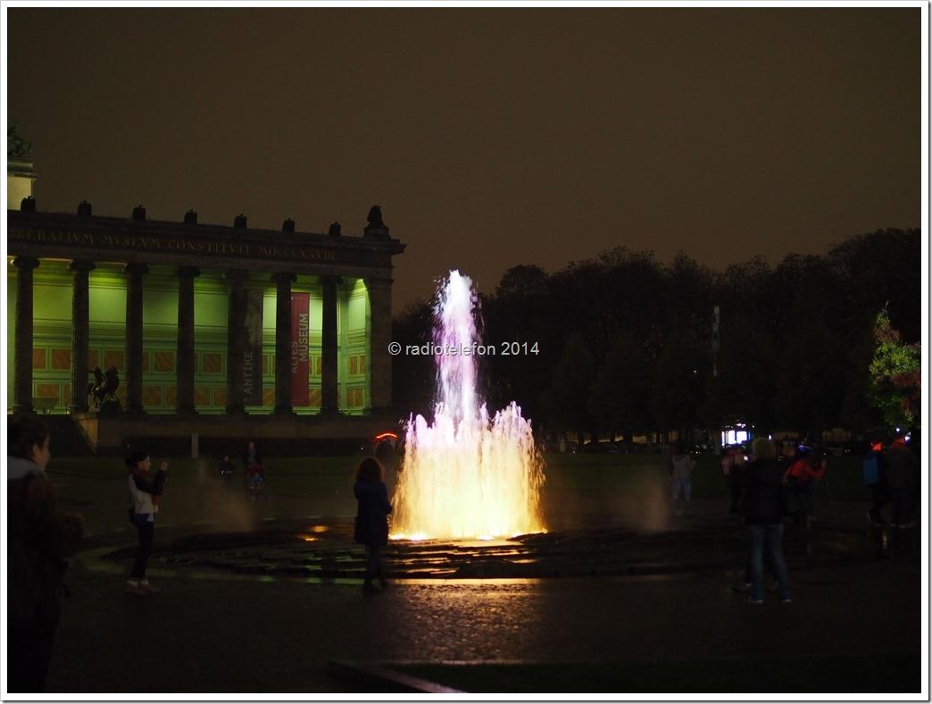 Berlin Festival of Lights 2014 Alte Nationalgalerie