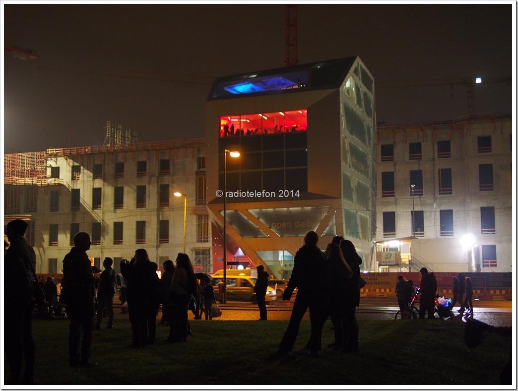 Berlin Festival of Lights 2014 Schlossbaustelle