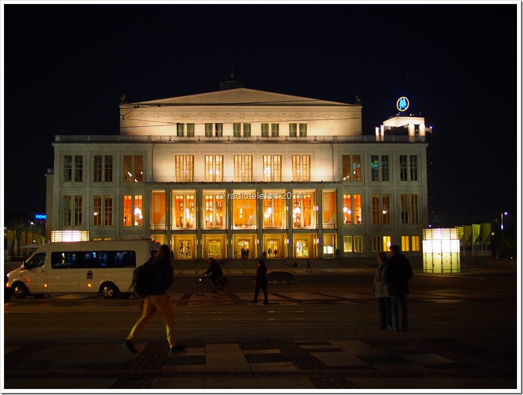 Leipzig Oper Augustusplatz