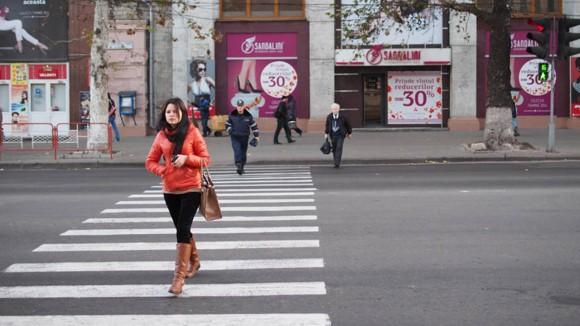 Stadtzentrum Chisinau, Republik Moldau