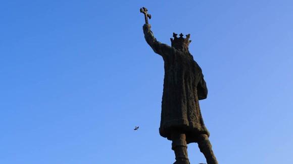 Stefan cel Mare Denkmal, Chisinau, Republik Moldau