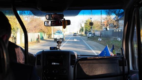 Straße von Chisinau nach Tiraspol