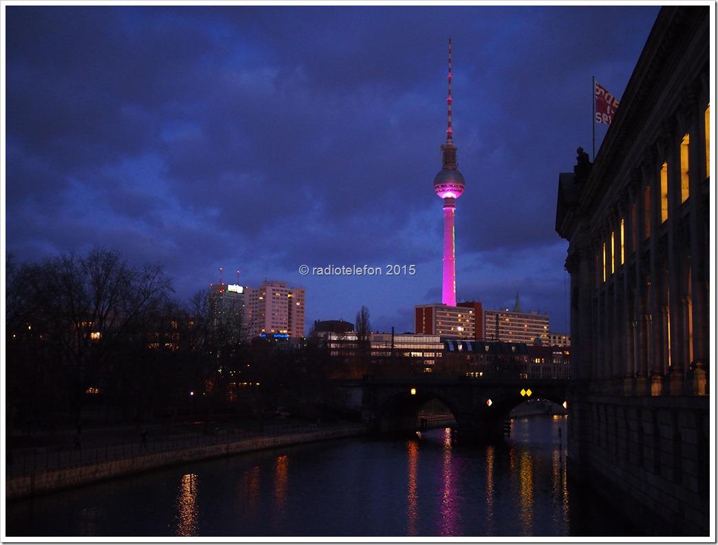 Berlin bei Nacht, Fernsehturm