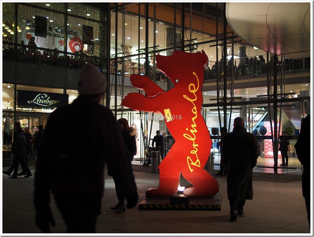 Berlinale Bär Potsdamer Platz