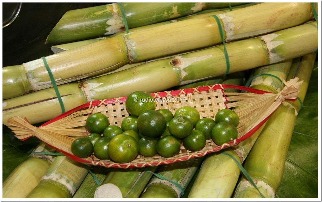 Zuckerrohr und Limetten, Shilin Nightmarket, Taiwan