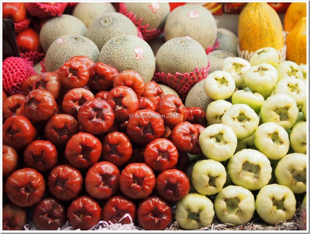 Chinesische Äpfel, Markt, Hualien, Taiwan