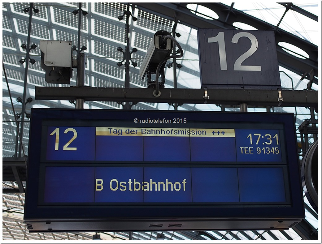 Tag der Bahnhofsmission Berlin