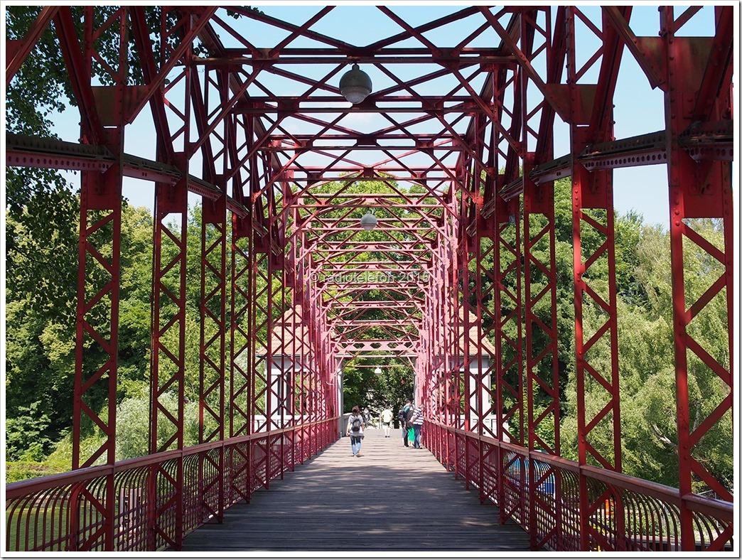 Berlin Alt-Tegel Greenwich Promenade Tegeler See Sechserbrücke