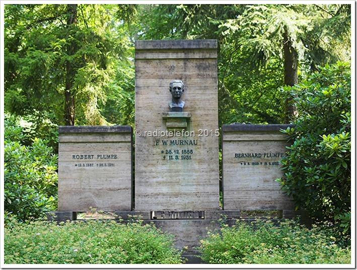 Grab F.W. Murnau Berlin Friedhof Südwestkirchhof Stahnsdorf